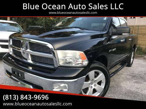 2009 Dodge Ram Pickup 1500 for sale at Blue Ocean Auto Sales LLC in Tampa FL