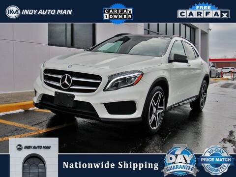 2017 Mercedes-Benz GLA for sale at INDY AUTO MAN in Indianapolis IN