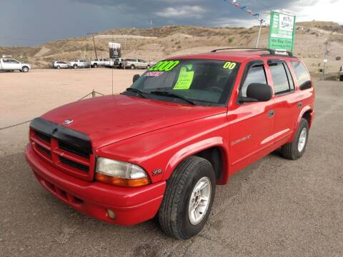 2000 Dodge Durango for sale at Hilltop Motors in Globe AZ