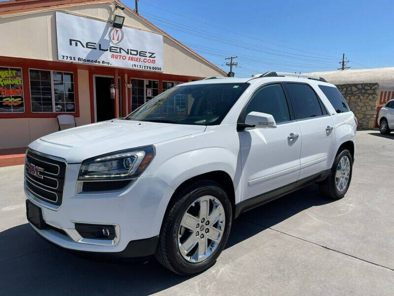 2017 GMC Acadia Limited for sale in El Paso, TX