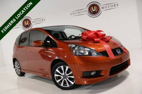 2012 Honda Fit for sale at Unlimited Motors in Fishers IN
