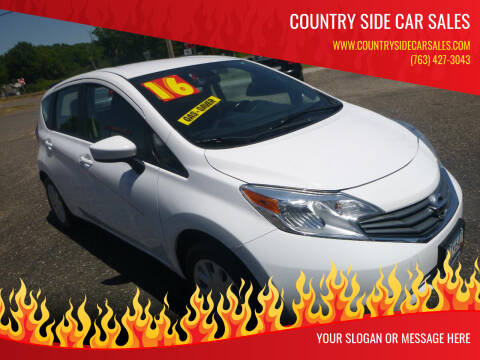2016 Nissan Versa Note for sale at Country Side Car Sales in Elk River MN