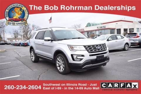 2016 Ford Explorer for sale at BOB ROHRMAN FORT WAYNE TOYOTA in Fort Wayne IN