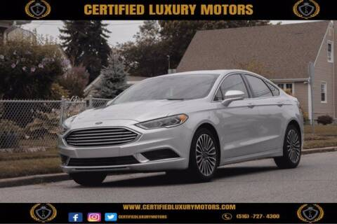 2018 Ford Fusion for sale at CERTIFIED LUXURY MOTORS OF QUEENS in Elmhurst NY