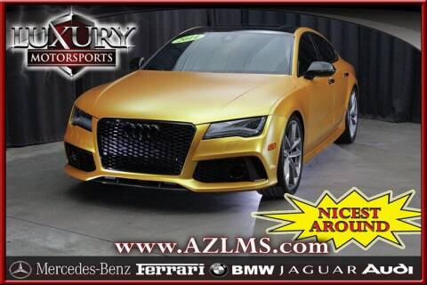 2014 Audi RS 7 for sale at Luxury Motorsports in Phoenix AZ