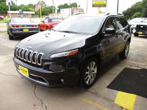 2014 Jeep Cherokee for sale at Metroplex Motors Inc. in Houston TX