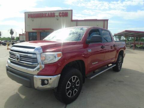 2016 Toyota Tundra for sale at Premier Foreign Domestic Cars in Houston TX