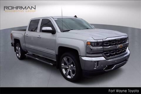 2018 Chevrolet Silverado 1500 for sale at BOB ROHRMAN FORT WAYNE TOYOTA in Fort Wayne IN