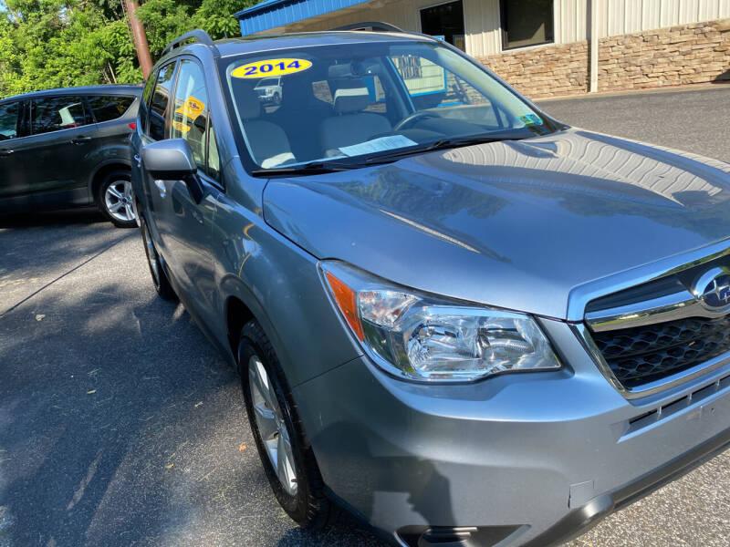 2014 Subaru Forester for sale at WHARTON'S AUTO SVC & USED CARS in Wheeling WV