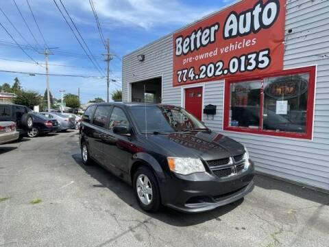 2011 Dodge Grand Caravan for sale at Better Auto in Dartmouth MA