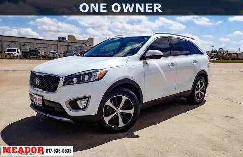 2017 Kia Sorento for sale at Meador Dodge Chrysler Jeep RAM in Fort Worth TX