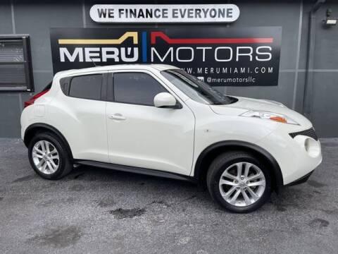 2012 Nissan JUKE for sale at Meru Motors in Hollywood FL