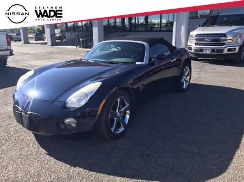 2007 Pontiac Solstice for sale at Stephen Wade Pre-Owned Supercenter in Saint George UT