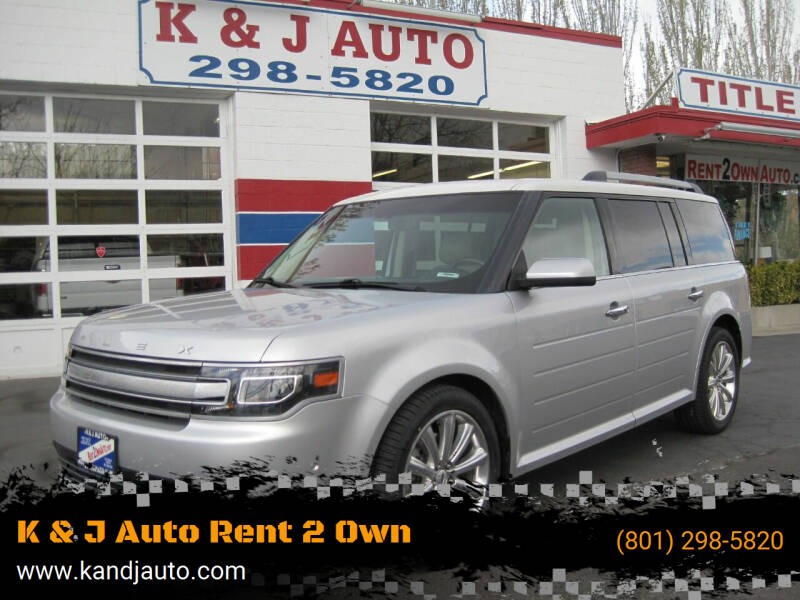 2013 Ford Flex for sale at K & J Auto Rent 2 Own in Bountiful UT