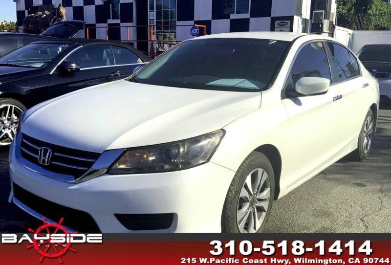 2014 Honda Accord for sale at BaySide Auto in Wilmington CA