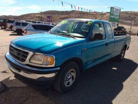1997 Ford F-150 for sale at Hilltop Motors in Globe AZ