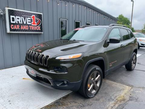 2016 Jeep Cherokee for sale at Drive 1 Car & Truck in Springfield OH