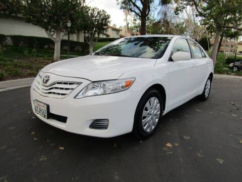 2011 Toyota Camry for sale at E MOTORCARS in Fullerton CA