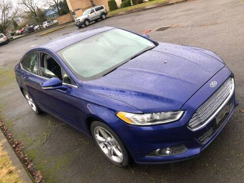 2014 Ford Fusion for sale at Blue Line Auto Group in Portland OR