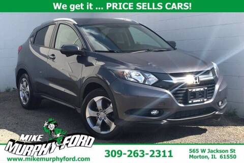 2016 Honda HR-V for sale at Mike Murphy Ford in Morton IL
