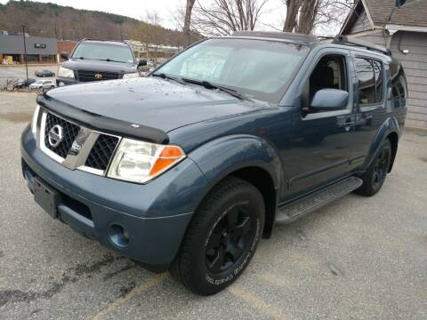 2005 Nissan Pathfinder for sale at Auto Brokers of Milford in Milford NH