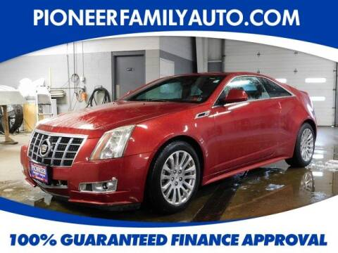 2012 Cadillac CTS for sale at Pioneer Family auto in Marietta OH