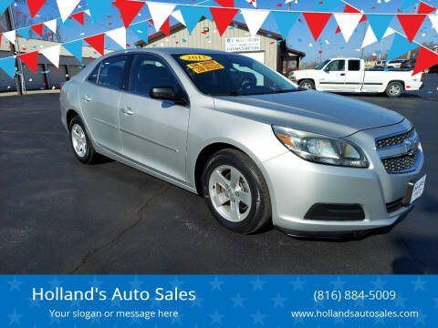2013 Chevrolet Malibu for sale at Holland's Auto Sales in Harrisonville MO