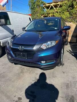 2016 Honda HR-V for sale at Drive Deleon in Yonkers NY