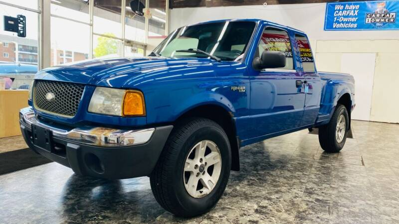 2002 Ford Ranger for sale at TOP YIN MOTORS in Mount Prospect IL