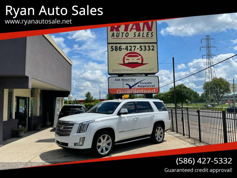 2016 Cadillac Escalade for sale at Ryan Auto Sales in Warren MI