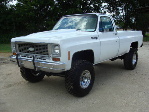 1974 Chevrolet C/K 20 Series for sale at Texas Truck Deals in Corsicana TX