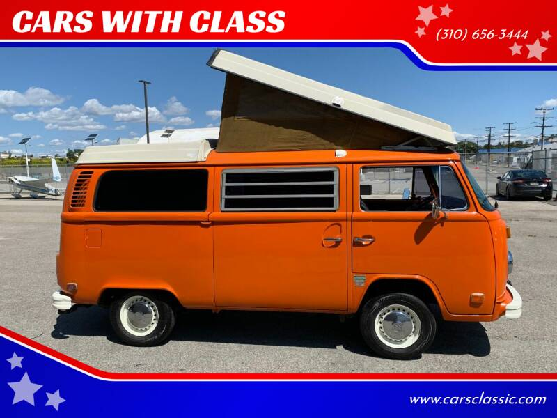 1973 Volkswagen Bus for sale at CARS WITH CLASS in Santa Monica CA