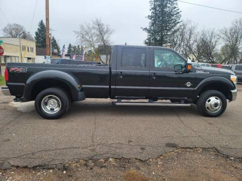 2013 Ford F-350 Super Duty for sale at WB Auto Sales LLC in Barnum MN