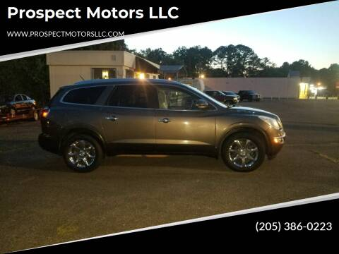 2010 Buick Enclave for sale at Prospect Motors LLC in Adamsville AL