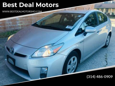 2011 Toyota Prius for sale at Best Deal Motors in Saint Charles MO