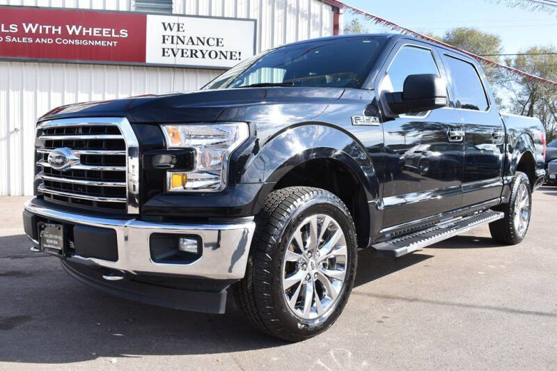 2017 Ford F-150 for sale at Dealswithwheels in Inver Grove Heights MN