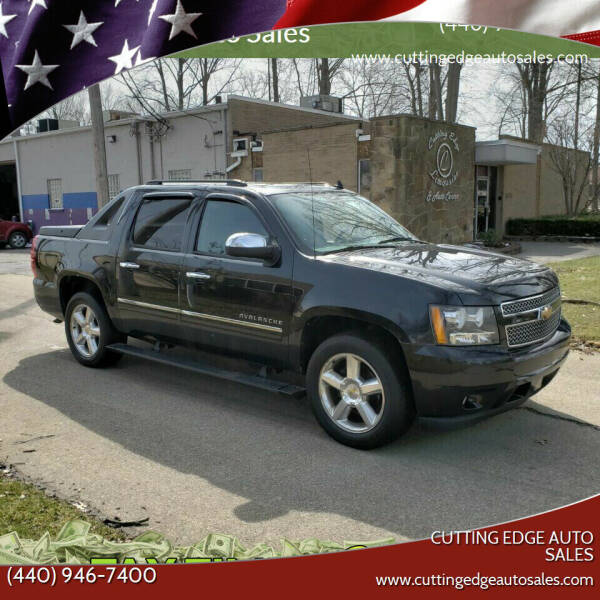 2010 Chevrolet Avalanche for sale at Cutting Edge Auto Sales in Willoughby OH