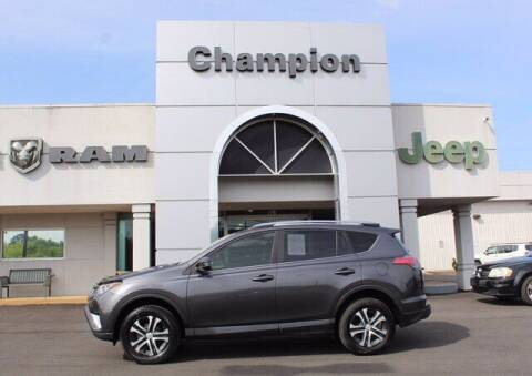 2018 Toyota RAV4 for sale at Champion Chevrolet in Athens AL