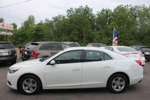 2016 Chevrolet Malibu Limited for sale at D & B Auto Sales LLC in Washington Township MI