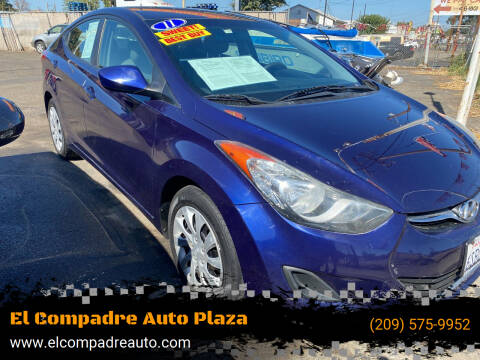 2011 Hyundai Elantra for sale at El Compadre Auto Plaza in Modesto CA