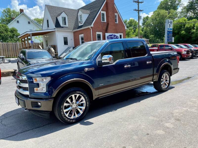 2017 Ford F-150 for sale at SETTLE'S CARS & TRUCKS in Flint Hill VA