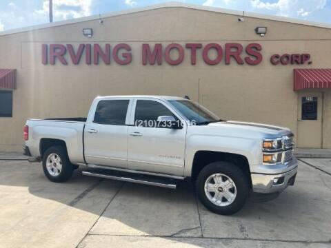 2015 Chevrolet Silverado 1500 for sale at Irving Motors Corp in San Antonio TX