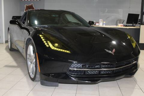 2017 Chevrolet Corvette for sale at SHAFER AUTO GROUP in Columbus OH