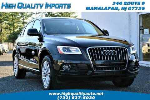 2016 Audi Q5 for sale at High Quality Imports in Manalapan NJ