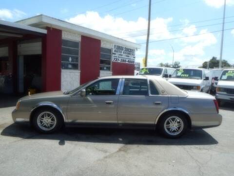 2003 Cadillac DeVille for sale at Florida Suncoast Auto Brokers in Palm Harbor FL