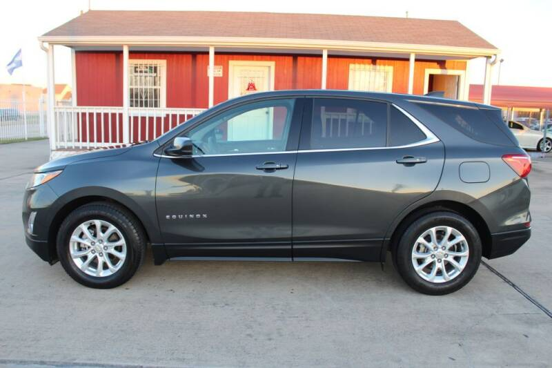 2018 Chevrolet Equinox for sale at AMT AUTO SALES LLC in Houston TX