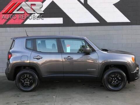 2018 Jeep Renegade for sale at Auto Republic Fullerton in Fullerton CA