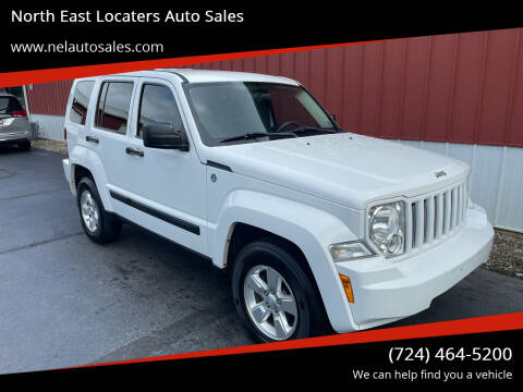 2012 Jeep Liberty for sale at North East Locaters Auto Sales in Indiana PA