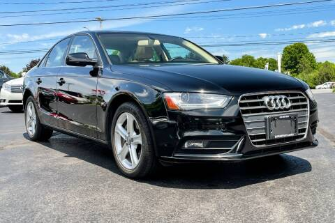 2013 Audi A4 for sale at Knighton's Auto Services INC in Albany NY