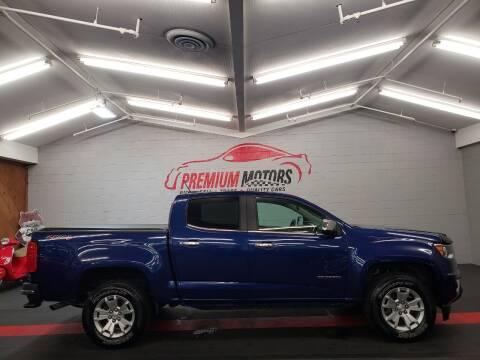 2015 Chevrolet Colorado for sale at Premium Motors in Villa Park IL